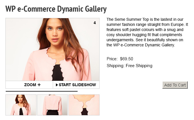 ecommerce gallery