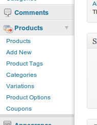 wp-e-commerce-simple-product-options screenshot 1