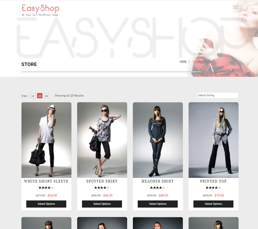 Choose from several pre-designed layouts!