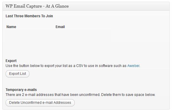 WordPress电子邮件营销插件– WP电子邮件捕获