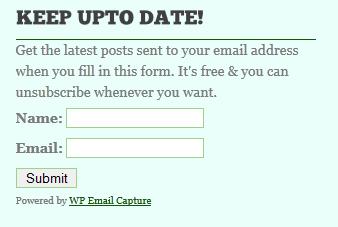 WordPress Email Marketing Plugin – WP Email Capture — WordPress ...