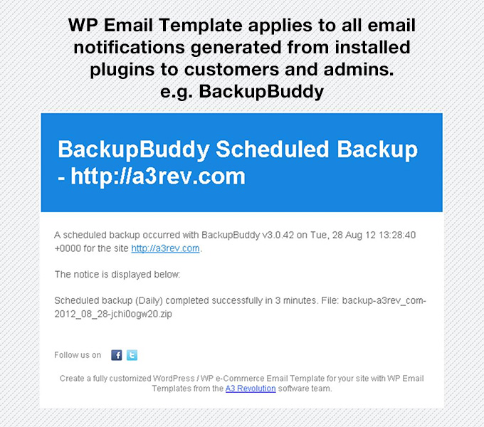 Wp Email Template Wordpressorg