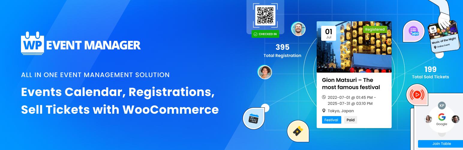 WP Event Manager – WordPress plugin | WordPress org