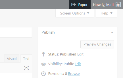 WordPress Exporter