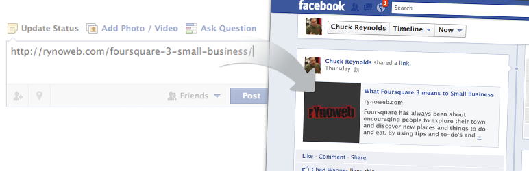 Wordpress Facebook Open Graph Protocol