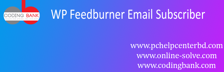 WP Feedburner Email Subscriber