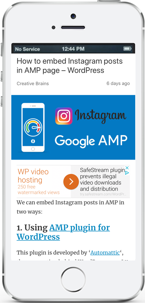 Embed Twitter post in AMP