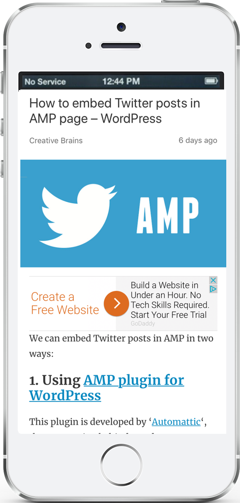 Embed Instagram post in AMP