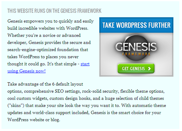 wp-genesis-box screenshot 2