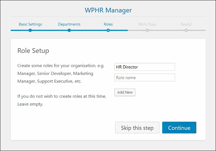 Easy to configure - built in setup wizard