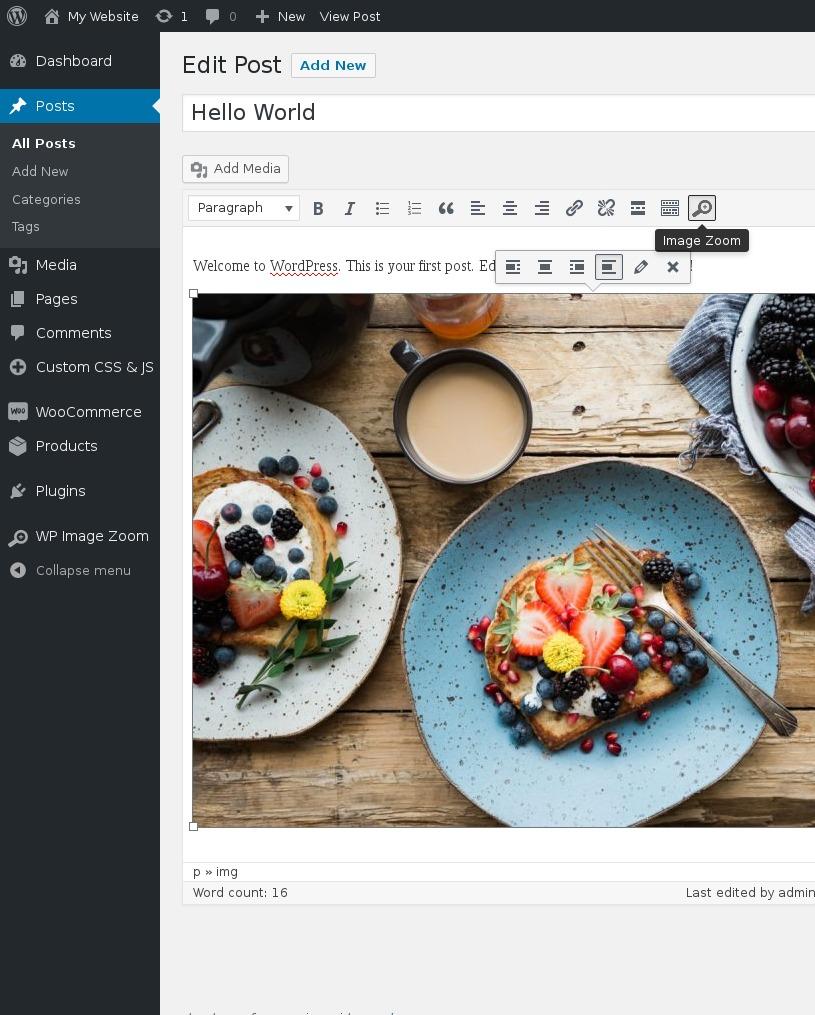 WP Image Zoom – WordPress plugin | WordPress org