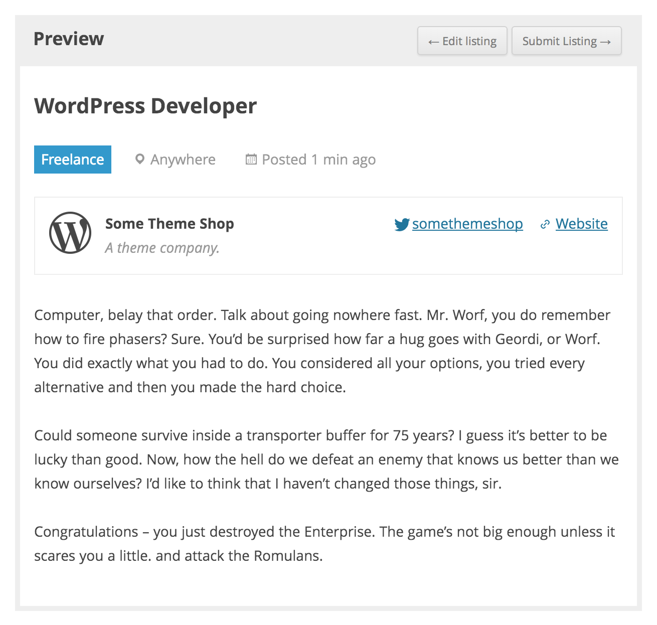 WP Job Manager — WordPress Plugins