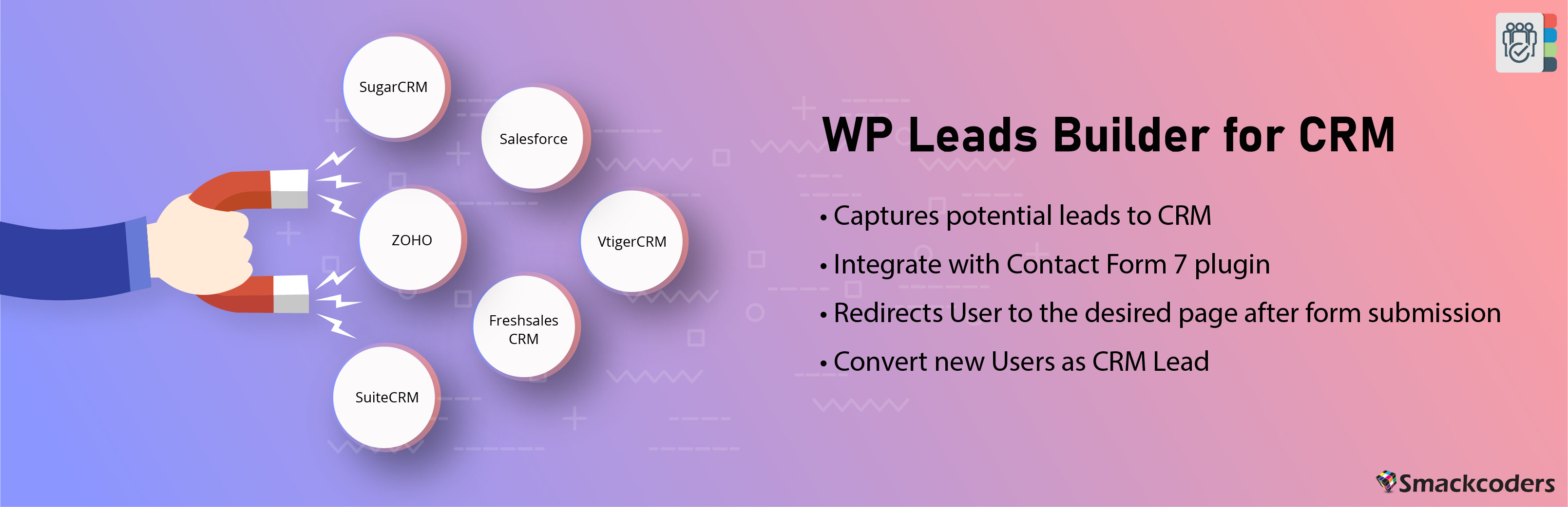 CRM WordPress Leads