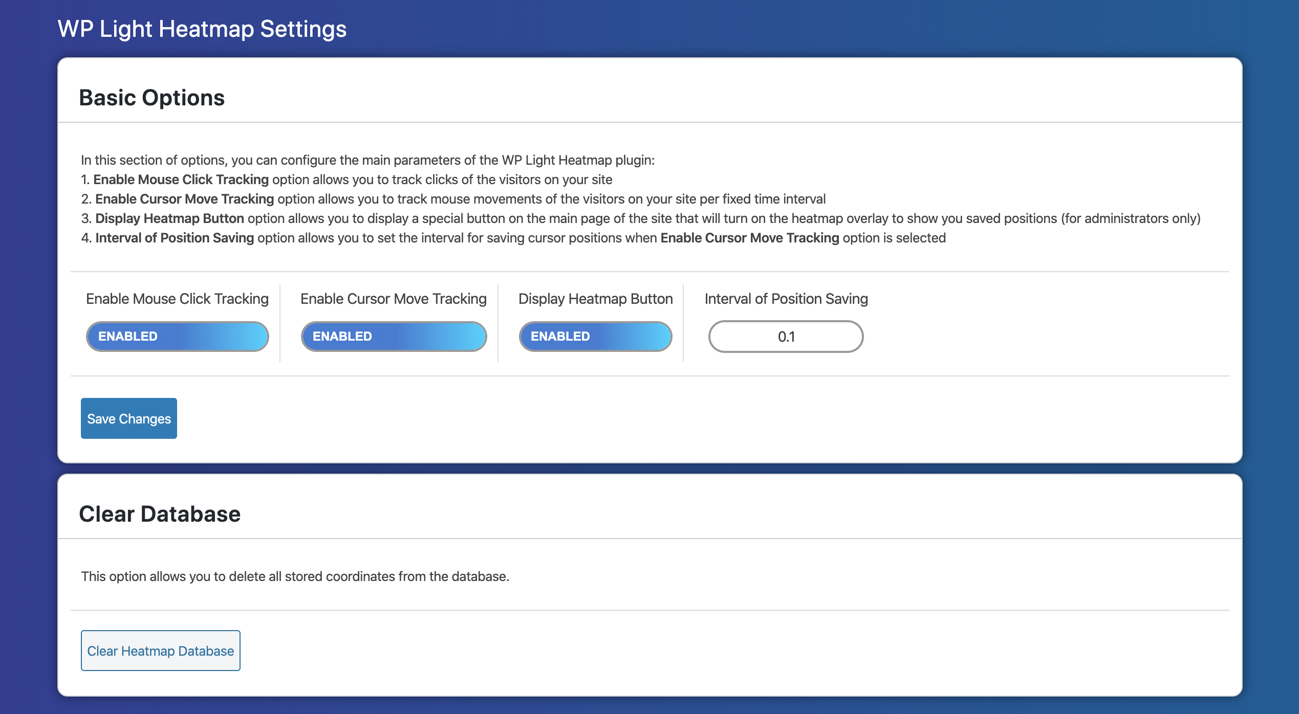This is the administration/settings page of this plugin.