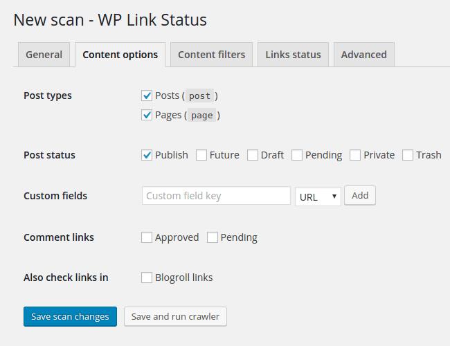 WP Broken Link Status Checker – WordPress plugin | WordPress org