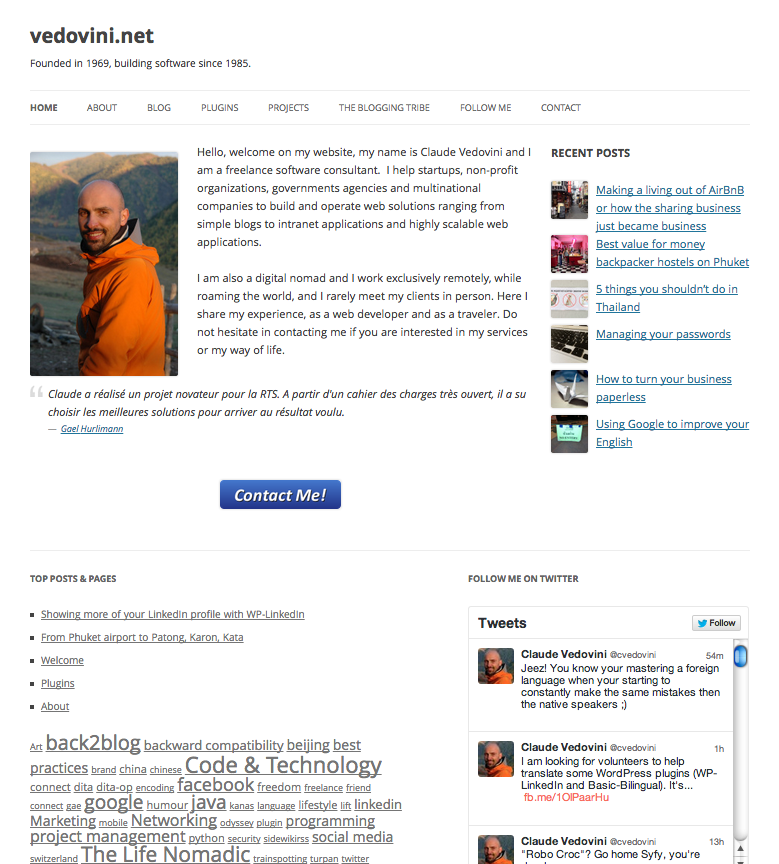 wp-linkedin screenshot 1