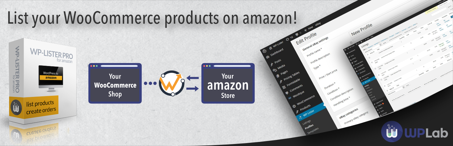 WP-Lister Lite for Amazon – WordPress plugin | WordPress org