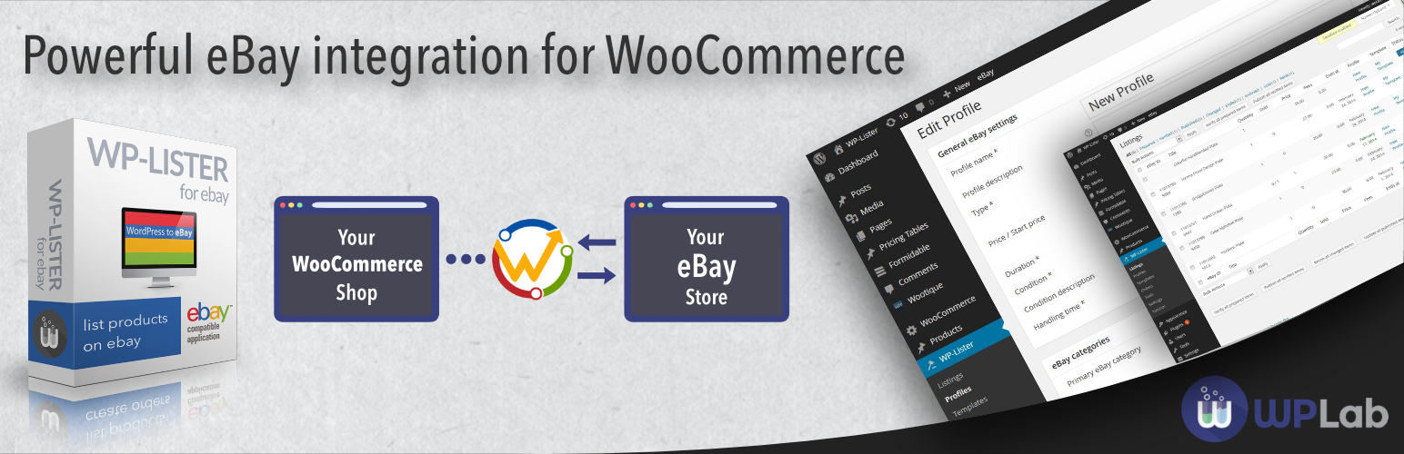 WP-Lister Lite for eBay – WordPress plugin | WordPress org