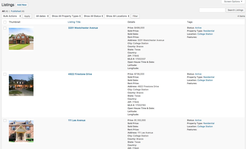 WP Listings Pro