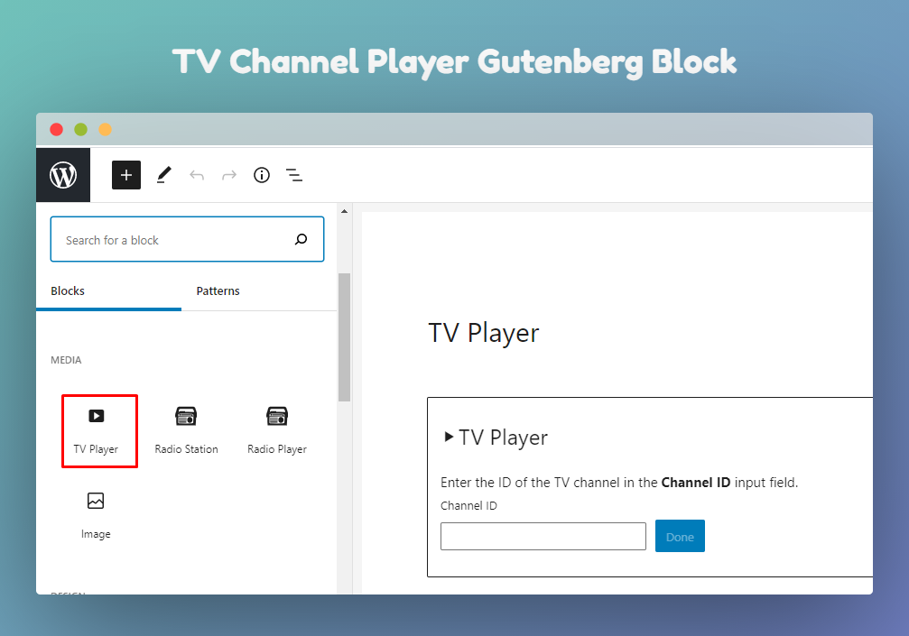 Live TV Player – Worldwide Live TV Channels Player for WordPress – WordPress  plugin   WordPress.org
