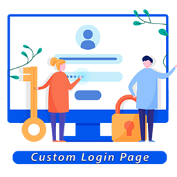 Custom Login Page | WebHunt Infotech