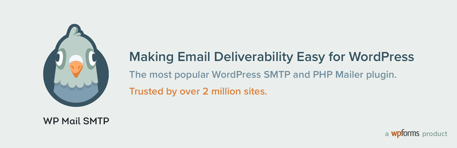 WP Mail SMTP by WPForms – WordPress plugin | WordPress org