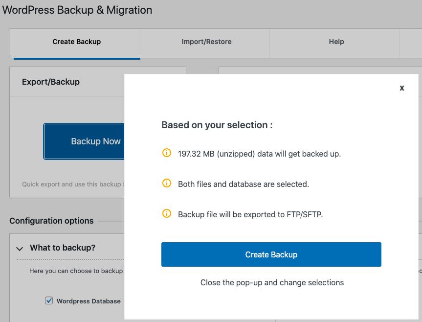 WordPress Migration & Duplicator