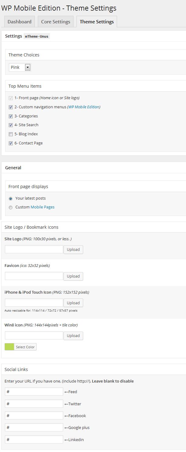 WP Mobile Edition - ChoosePlugin com
