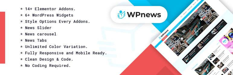 WP News – WordPress News / Magazine Plugin