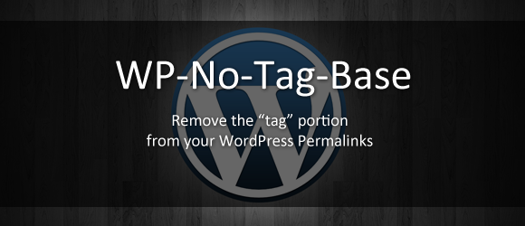 wp-no-tag-base screenshot 1