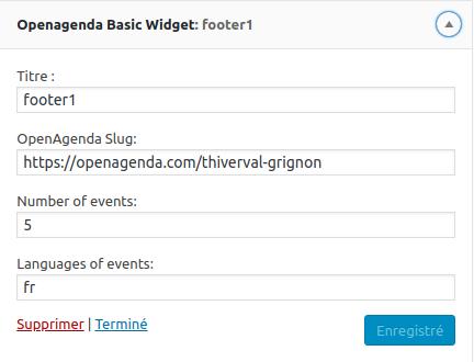 Free WordPress Widget