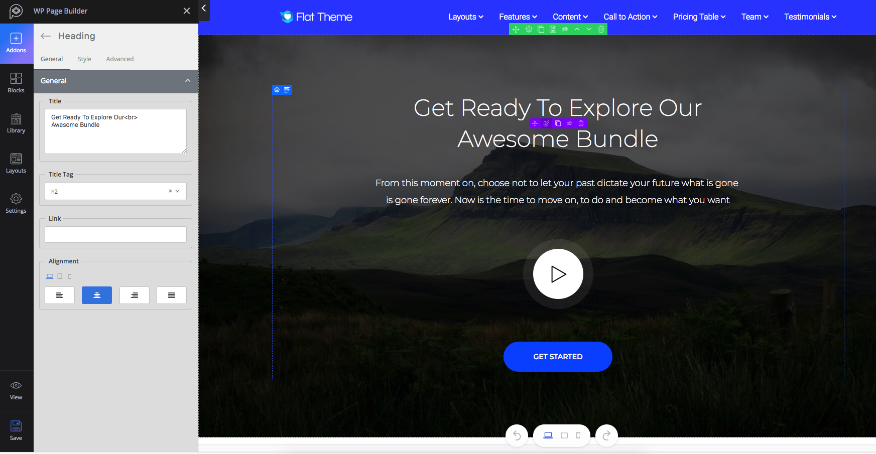 WP Page Builder – Drag & Drop Page Builder with Layouts