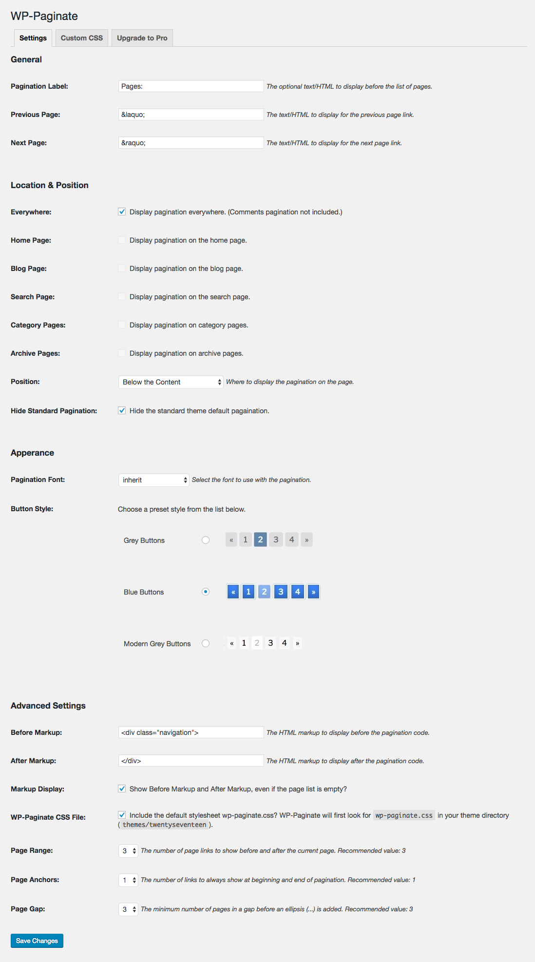 WP-Paginate – WordPress plugin | WordPress org