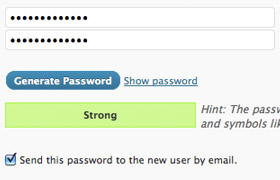 wp-password-generator screenshot 1