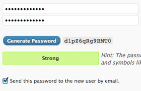 wp-password-generator screenshot 2
