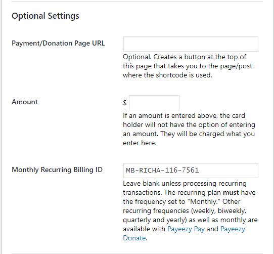 WP Payeezy Pay – WordPress plugin   WordPress org