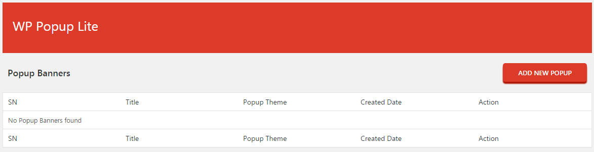 WP Popup Lite – Responsive popup plugin for WordPress