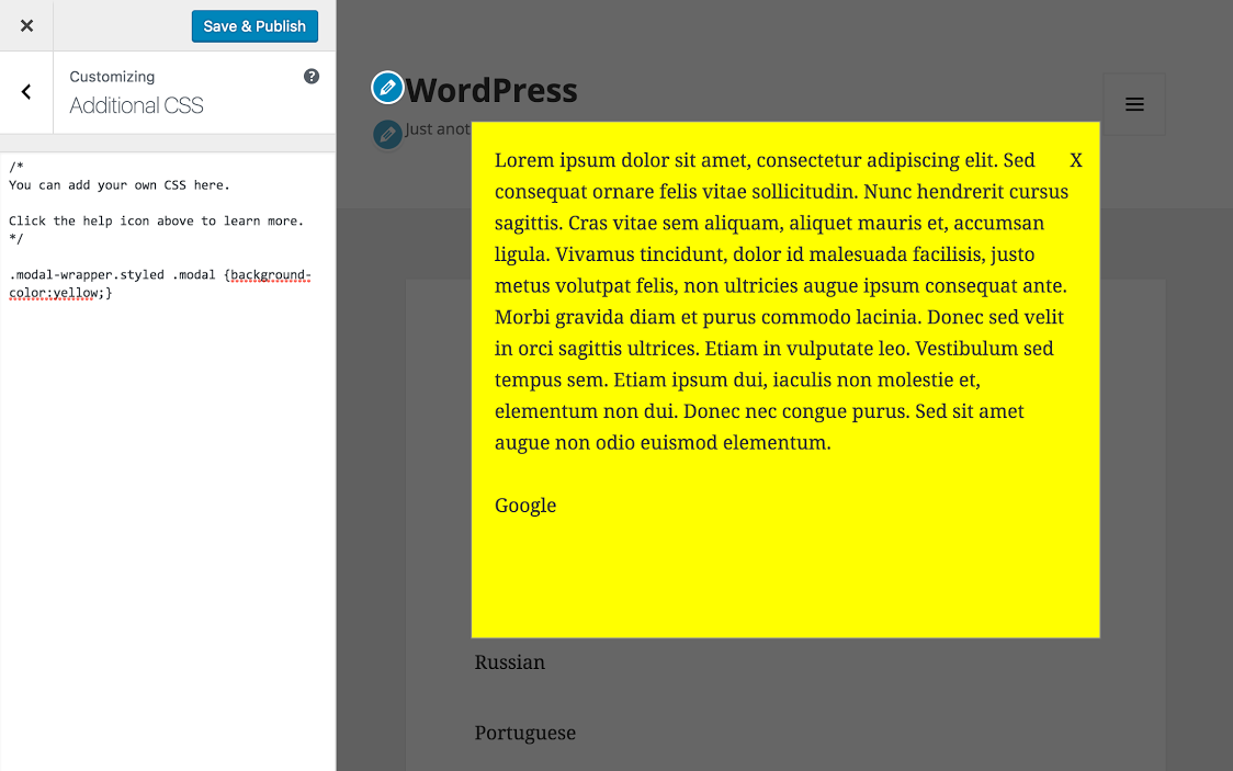 WP Post Popup – WordPress plugin | WordPress org