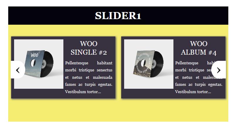Slider example 6