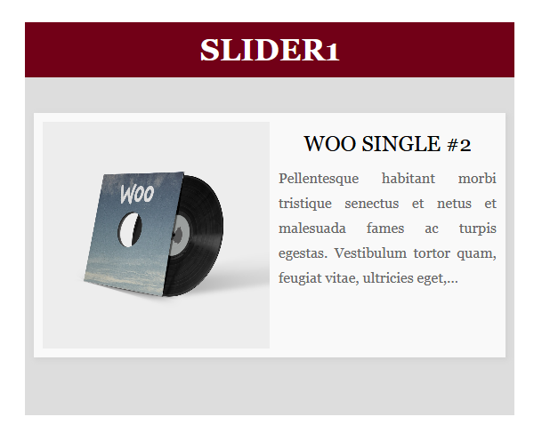Slider example 2
