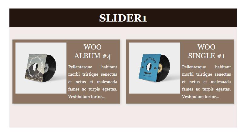 Slider example 4
