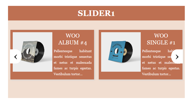 Slider example 5
