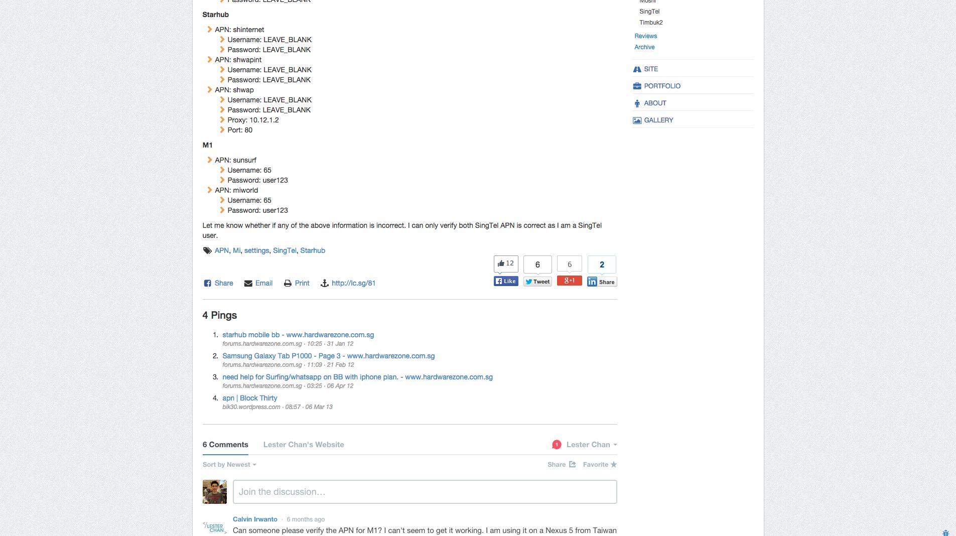 WP-Print's Screenshot: Print Post Link