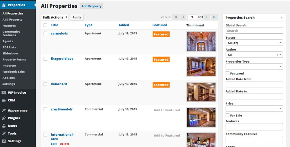 WP-Property – WordPress Powered Real Estate and Property Management ...