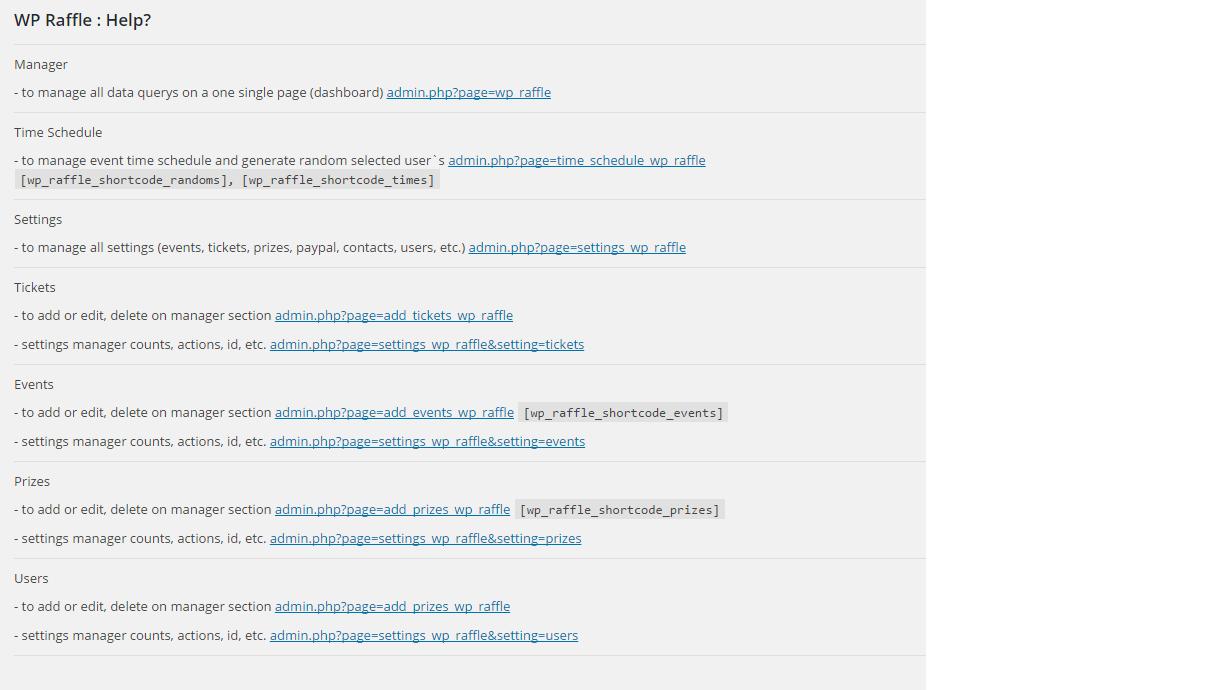 screenshot-7 /assets - ( wp-raffle ) help? ( 100% ) screen dimension .