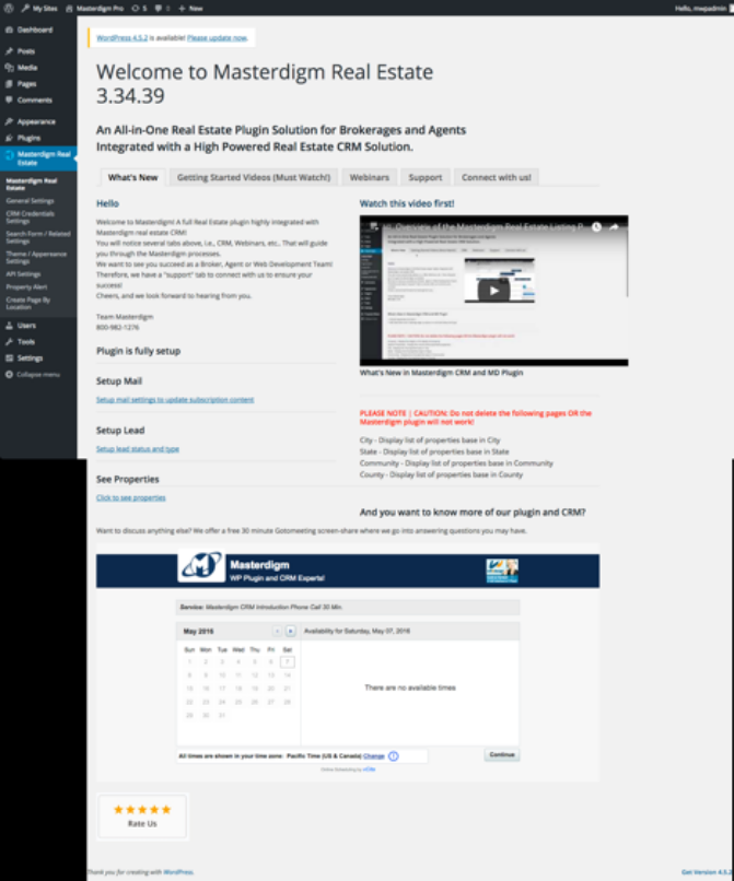 Real Estate Listings Plugin for Professionals – WordPress