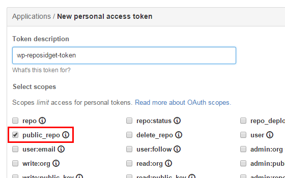 <p>Generate a GitHub personal access token. 生成 GitHub 个人访问令牌。</p>