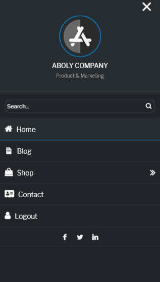 <p>Icons settings.</p>