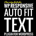 WP Responsive Auto Fit Text logo