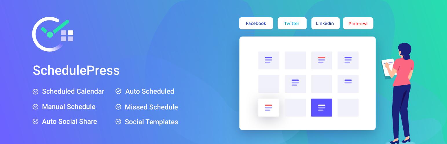 WP Scheduled Posts – Missed Schedule, Auto Social Share & Best Editorial Calendar